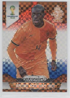 2014 Panini Prizm World Cup - [Base] - Red, White, & Blue Power Plaid Prizms #28 - Bruno Martins Indi