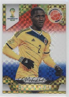 2014 Panini Prizm World Cup - [Base] - Red, White, & Blue Power Plaid Prizms #48 - Cristian Zapata