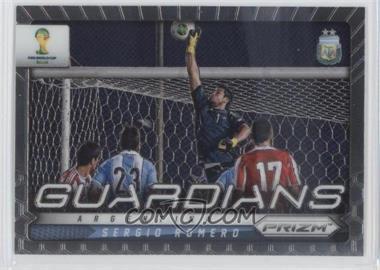 2014 Panini Prizm World Cup - Guardians #2 - Sergio Romero