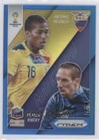 Franck Ribery, Antonio Valencia /199