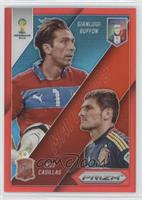 Gianluigi Buffon, Iker Casillas /149