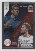 Paul Pogba, Valon Behrami