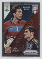 Iker Casillas, Gianluigi Buffon
