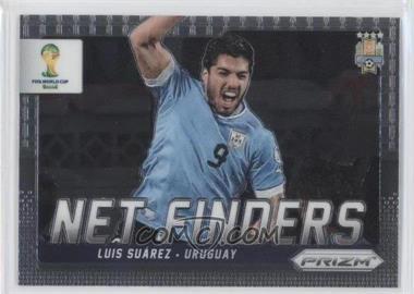 2014 Panini Prizm World Cup - Net Finders #24 - Luis Suarez