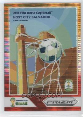 2014 Panini Prizm World Cup - Posters - Yellow & Red Pulsar Prizms #11 - Salvador