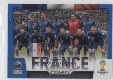 2014 Panini Prizm World Cup - Team Photos - Blue Prizms #14 - France /199