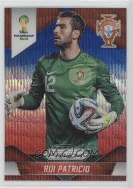 2014 Panini Prizm World Cup Blue & Red Blue Wave Prizms #155 - Rui Patricio