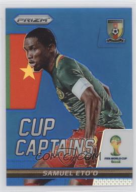 2014 Panini Prizm World Cup Cup Captains Blue Prizms #26 - Samuel Eto'o /199