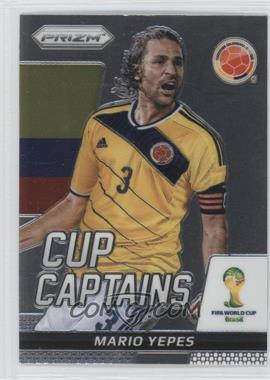 2014 Panini Prizm World Cup Cup Captains #22 - Mario Yepes