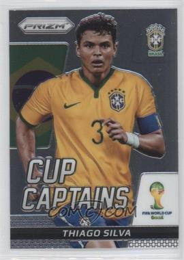 2014 Panini Prizm World Cup Cup Captains #28 - Thiago Silva