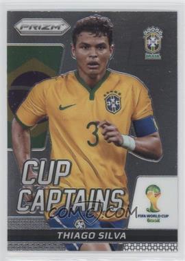 2014 Panini Prizm World Cup Cup Captains #28 - Thiago Silva
