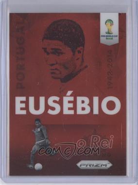 2014 Panini Prizm World Cup Eusbio Tribute #T-EUS - Eusebio