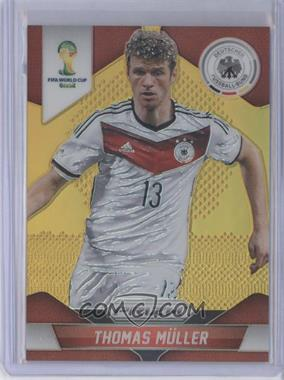 2014 Panini Prizm World Cup Gold Prizms #93 - Thomas Muller /10