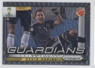 2014 Panini Prizm World Cup Guardians #25 - David Ospina