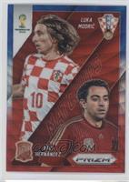 Luka Modric, Xavi Hernandez