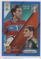 Gianluigi Buffon, Iker Casillas /199