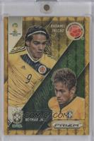 Radamel Falcao, Neymar Jr. /5