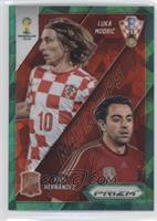 Luka Modric, Xavi Hernandez /25