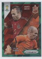 Andres Iniesta, Arjen Robben /25