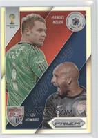 Manuel Neuer, Tim Howard