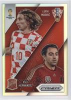 Xavi Hernandez, Luka Modric