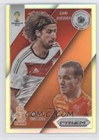 Wesley Sneijder, Sami Khedira