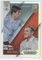 Luis Suarez, Wayne Rooney