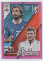 Andrea Pirlo, Steven Gerrard /99
