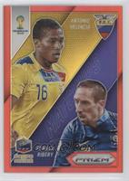 Antonio Valencia, Franck Ribery /149