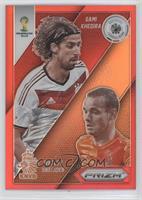 Sami Khedira, Wesley Sneijder /149