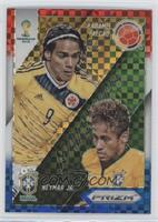 Radamel Falcao, Neymar Jr.
