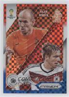 Arjen Robben, Philipp Lahm