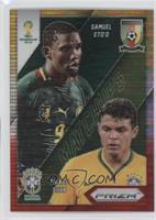 Thiago Silva, Samuel Eto'o