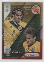 Neymar Jr., Radamel Falcao