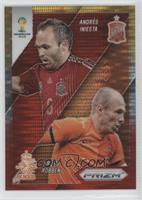 Andres Iniesta, Arjen Robben