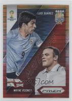 Wayne Rooney, Luis Suarez