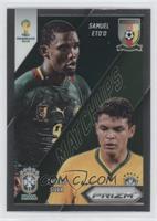 Samuel Eto'o, Thiago Silva