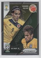 Neymar Jr., Radamel Falcao