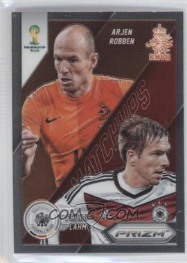 2014 Panini Prizm World Cup Matchups #21 - Arjen Robben, Philipp Lahm