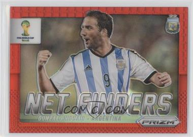 2014 Panini Prizm World Cup Net Finders Red Prizms #1 - Gonzalo Higuain /149
