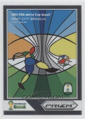 2014 Panini Prizm World Cup Posters #2 - Brasilia