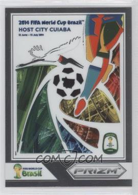 2014 Panini Prizm World Cup Posters #3 - Cuiaba