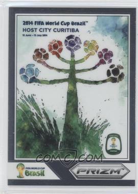 2014 Panini Prizm World Cup Posters #4 - Curitiba