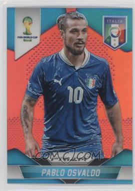 2014 Panini Prizm World Cup Red Prizms #133 - Pablo Osvaldo /149
