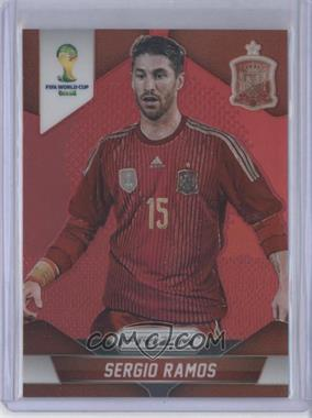 2014 Panini Prizm World Cup Red Prizms #172 - Sergio Ramos /149