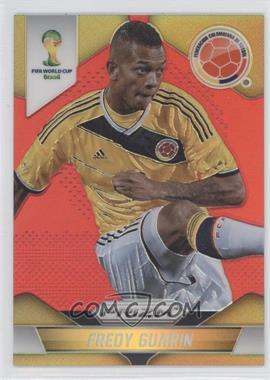 2014 Panini Prizm World Cup Red Prizms #52 - Fredy Guarin /149
