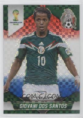 2014 Panini Prizm World Cup Red, White, & Blue Power Plaid Prizms #147 - Giovani Dos Santos