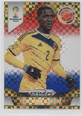 2014 Panini Prizm World Cup Red, White, & Blue Power Plaid Prizms #48 - Cristian Zapata