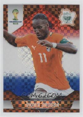 2014 Panini Prizm World Cup Red, White, & Blue Power Plaid Prizms #60 - Didier Drogba