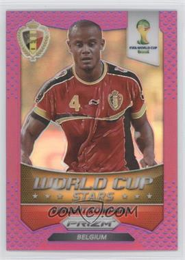 2014 Panini Prizm World Cup Stars Purple Prizms #4 - Vincent Kompany /99